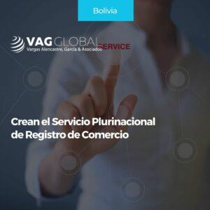 Crean el Servicio Plurinacional de Registro de Comercio