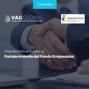 Disposiciones aplicables al Fortalecimiento del Fondo Empresarial