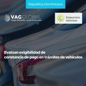 Evalúan exigibilidad de constancia de pago en trámites de vehículos