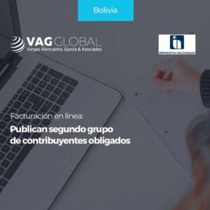 Facturación en línea Publican segundo grupo de contribuyentes obligados