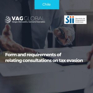 Form and requirements of relating consultations on tax evasion
