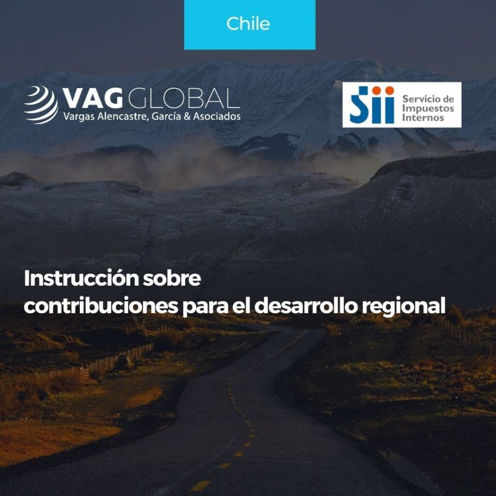 Instrucción sobre contribuciones para el desarrollo regional