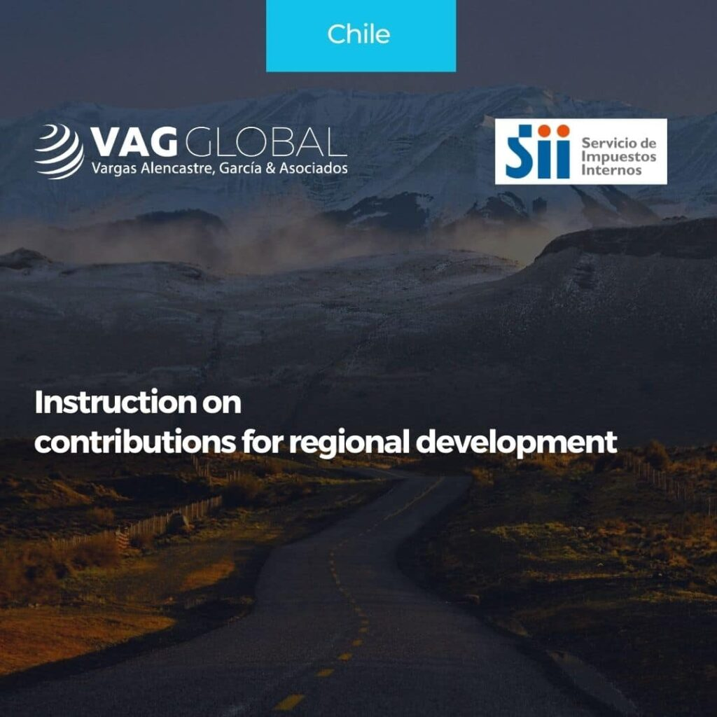 Instruction on contributions for regional development