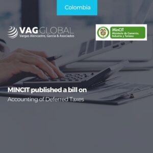 MINCIT published a bill on Accounting of Deferred Taxes