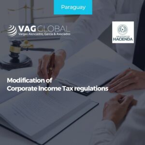 Modification of Corporate Income Tax regulations