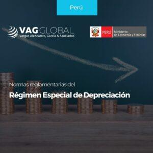 Normas reglamentarias del Régimen Especial de Depreciación