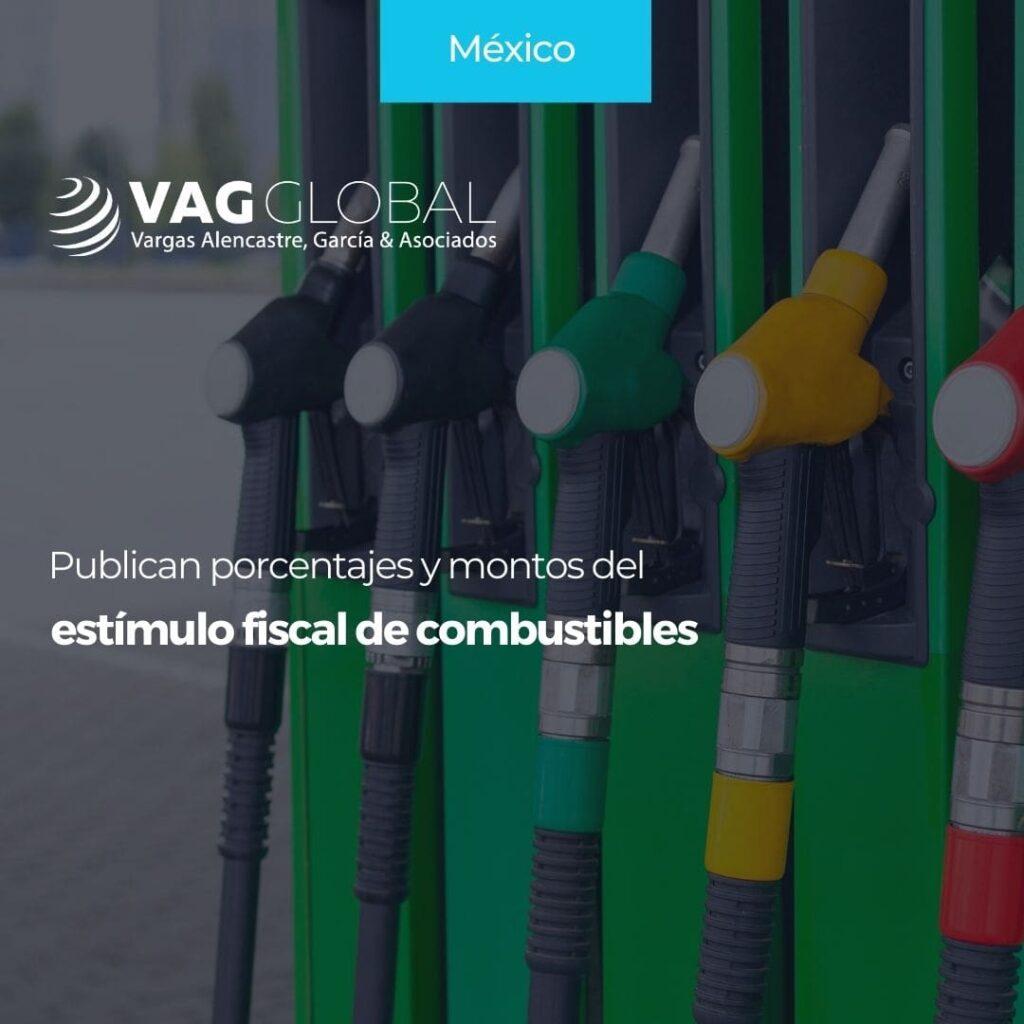 Publican porcentajes y montos del estímulo fiscal de combustibles