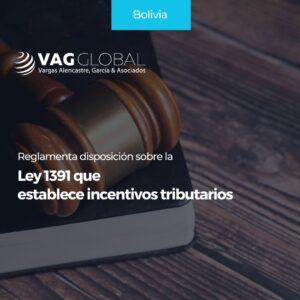 Reglamenta disposición sobre la Ley 1391 que establece incentivos tributarios.