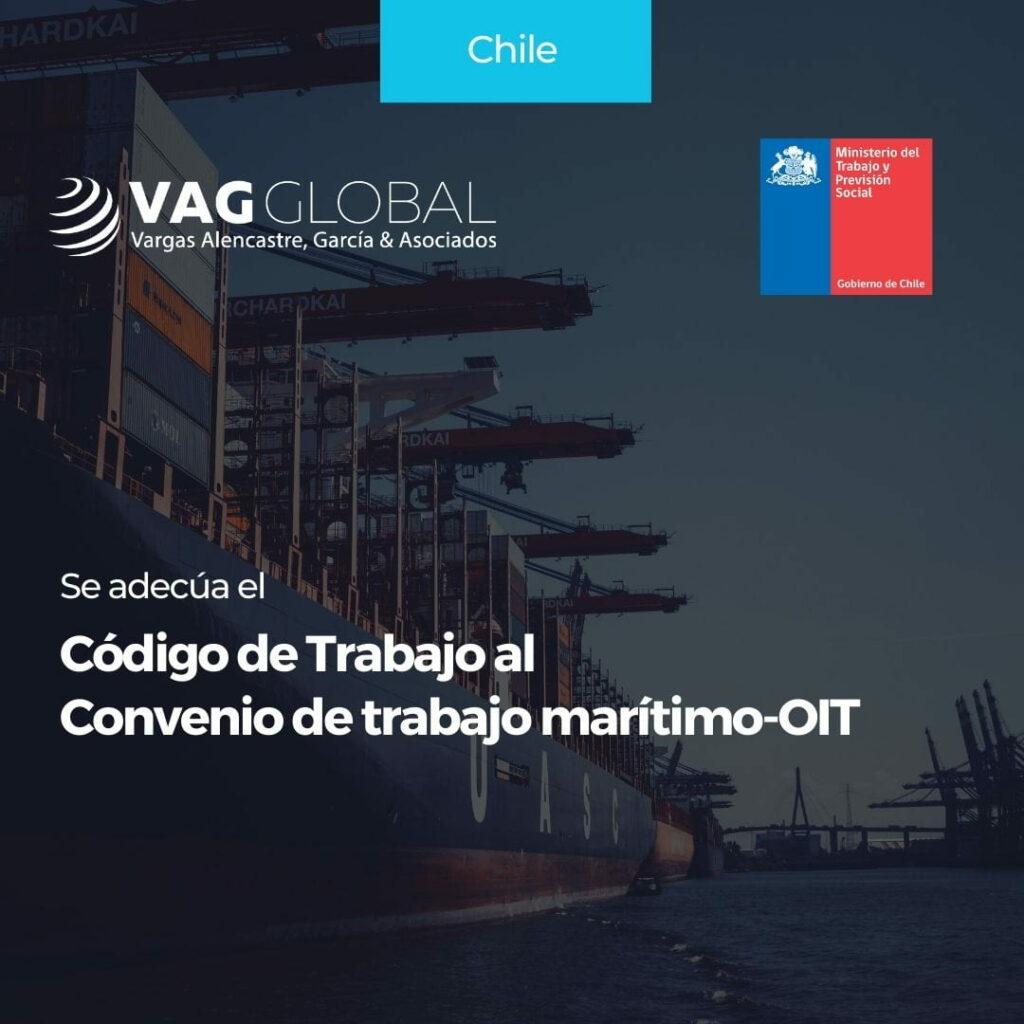 Se adecúa el Código de Trabajo al Convenio de trabajo marítimo-OIT
